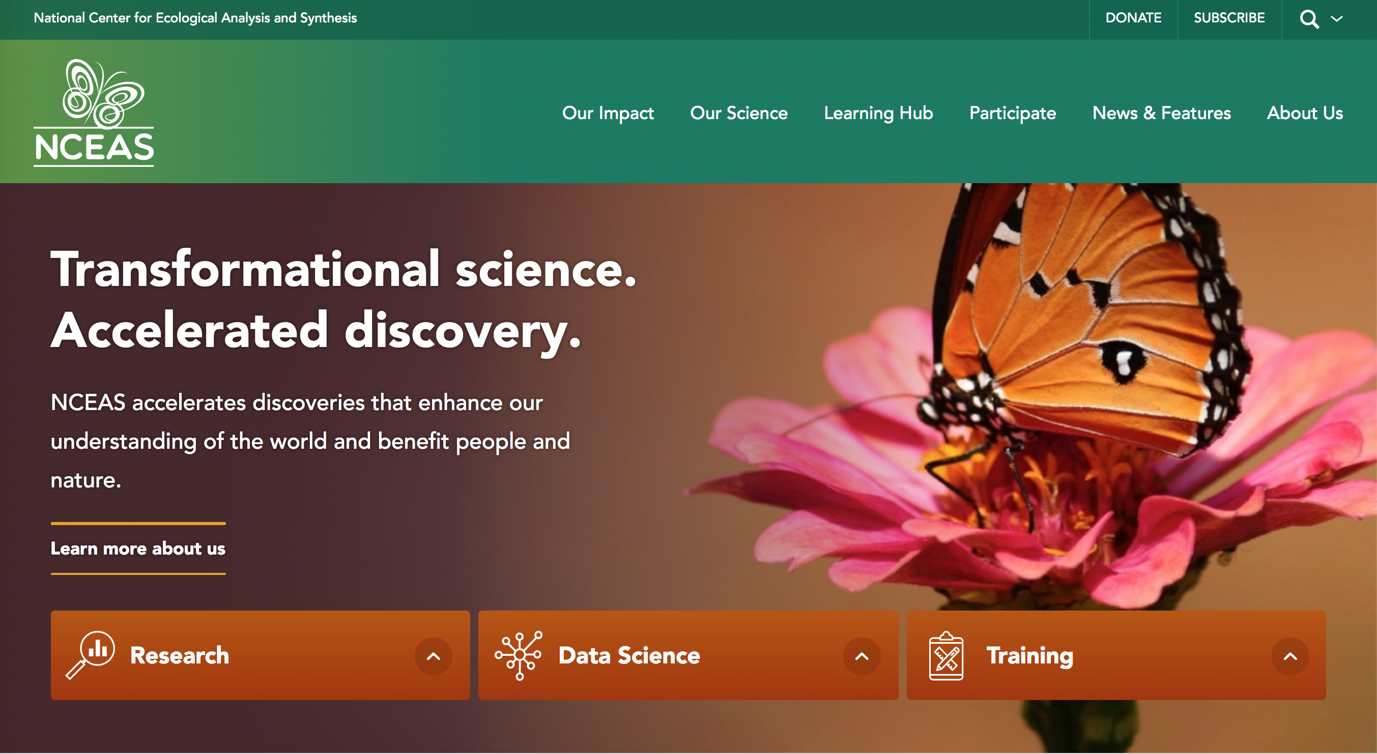 NCEAS home page