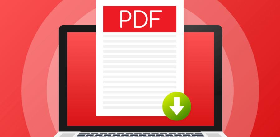 a PDF document