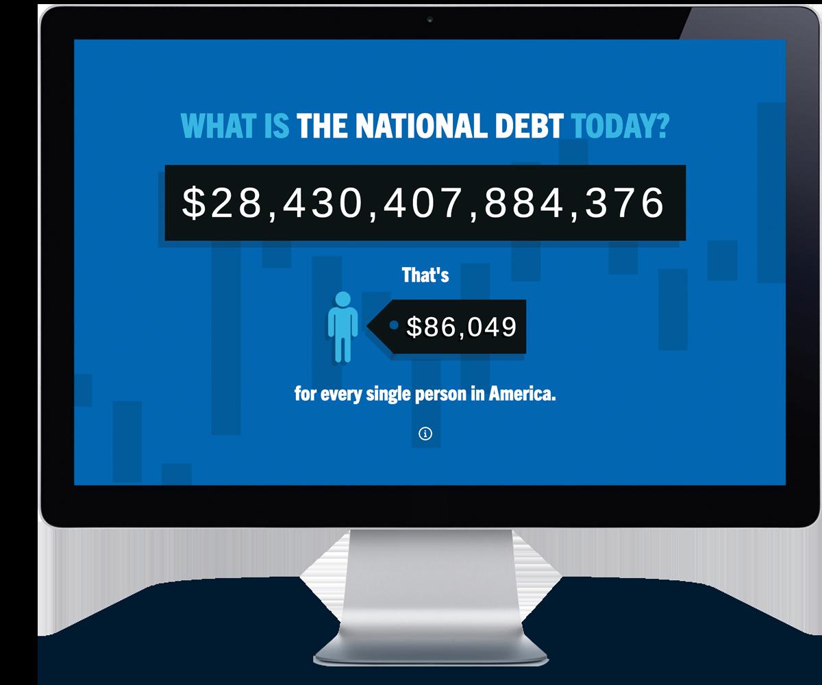 national debt ticker